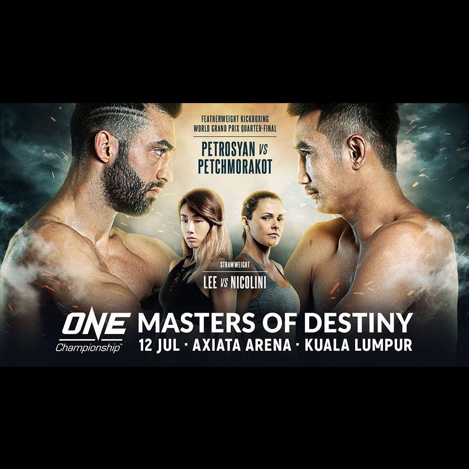 ONE Championship - Masters of Destiny